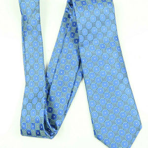 Ted Baker London Blue Green Diamond Silk Tie
